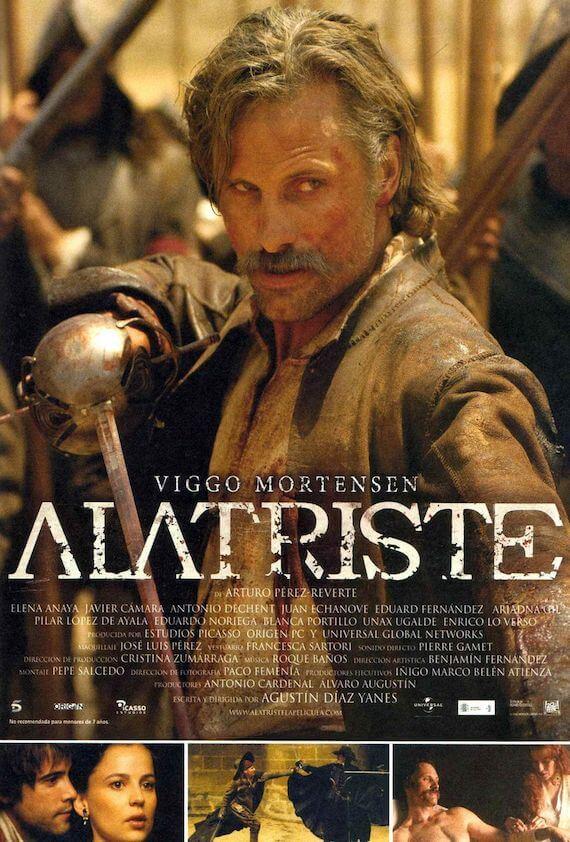 Αφίσα της ταινίας Κάπτεν Αλατρίστε