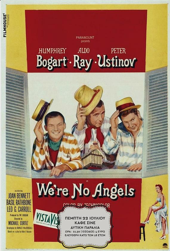 Η αφίσα της ταινίας Δεν Είμαστε Άγγελοι